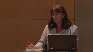 Docteur Hélène Thibault, pédiatre, ISPED (Institut de santé publique, d'épidémiologie et de développement) – Université Bordeaux Segalen – CHU de Bordeaux