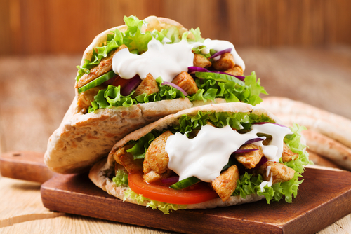pain pita recette sandwich